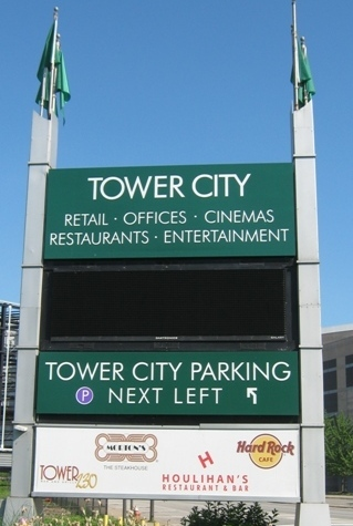 progressive field parking tower city garage