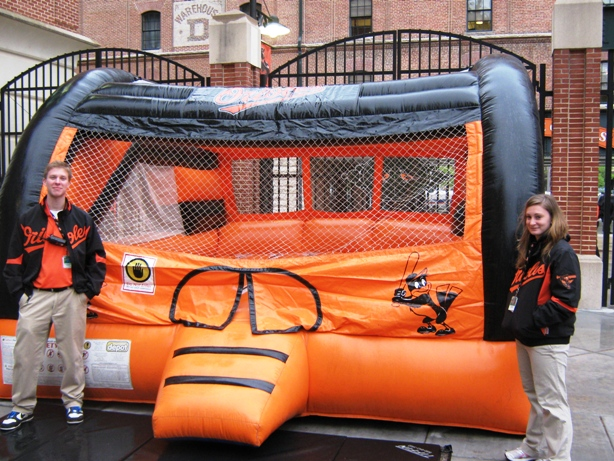 camden Yards with kids play area