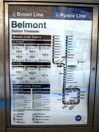 best way to get to wrigley field brown line