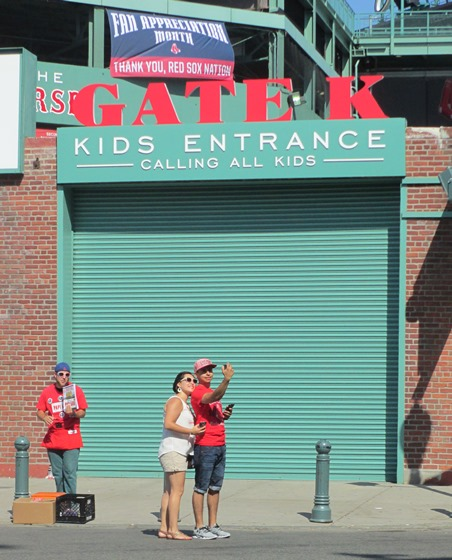 fenway park with kids calling all kids