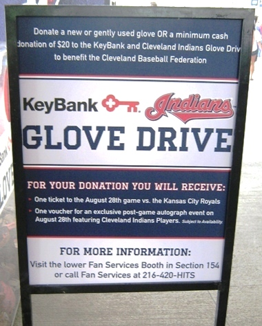 cheap indians tickets donate items