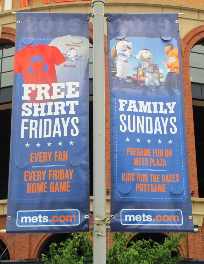 citi field with kids family sundays