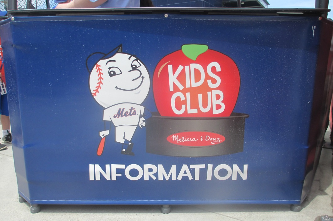 citi field with kids fan club