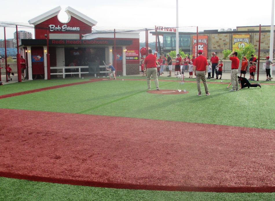 great american ball park with kids fun zone