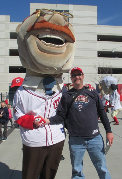 Nationals Park With Kids Racing presidents