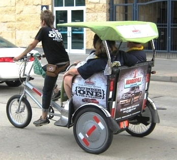 best way to get to pnc park pedicab