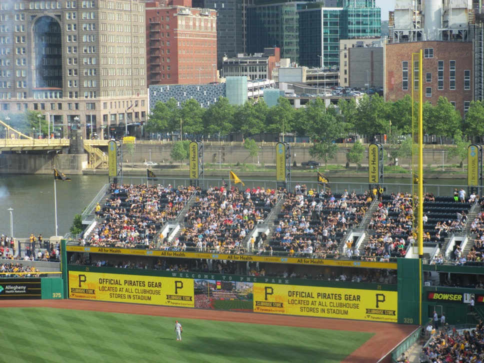 PNC Park seating tips outfield