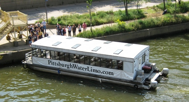 best way to get to pnc park pittsburgh water limo