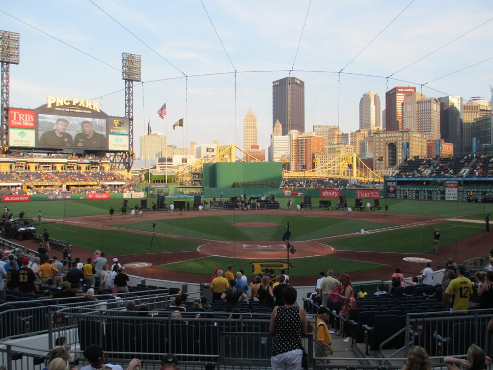 pnc park seating tips infield box