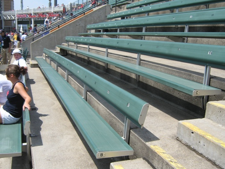 cheap seats at progressive field bleachers