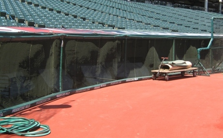 Progressive Field seating dugout suites