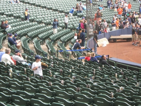 miller park seating tips lower level