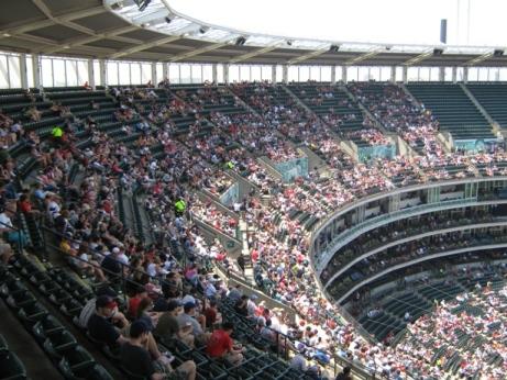 cheap seats at progressive field view box
