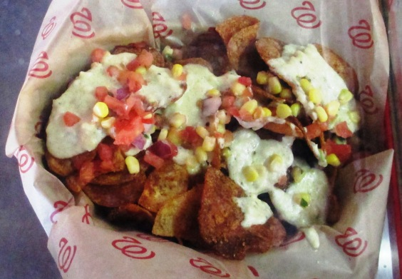 nationals park nachos chesapeake crab