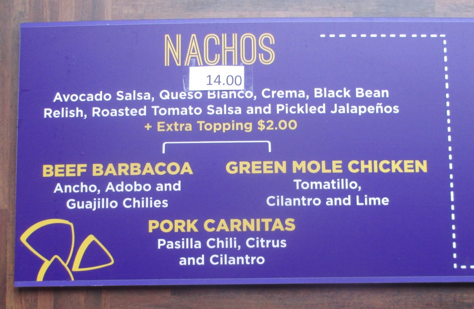 nationals park nachos el verano taqueria