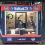 comerica park with kids club