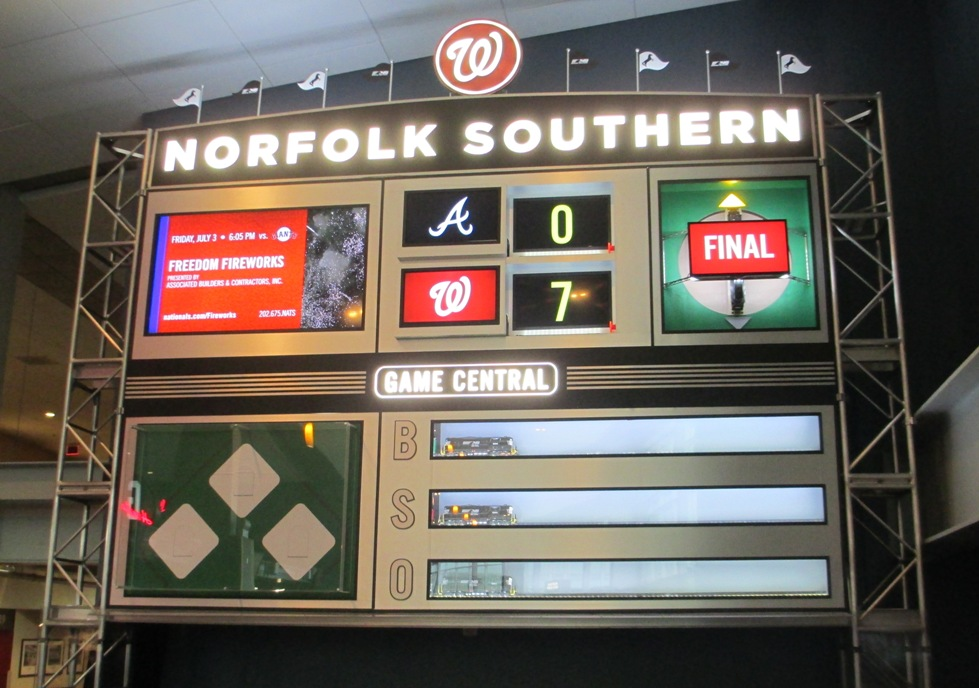 nationals park seating tips club level