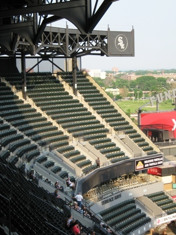guaranteed rate field seating tips upper level