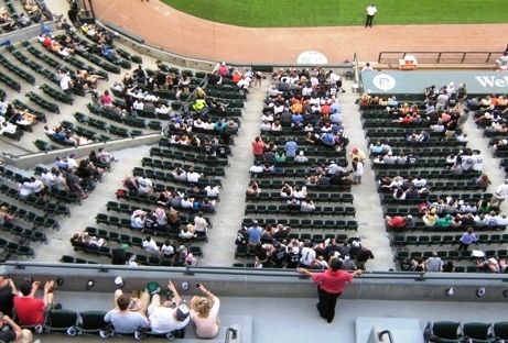 guaranteed rate field seating tips lower level
