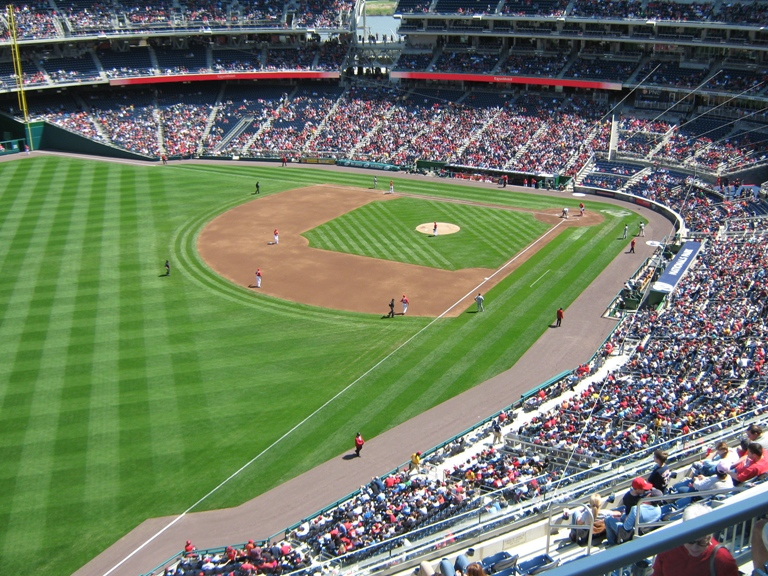 cheap seats at nationals park