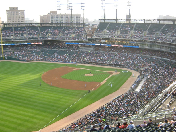 cheap seats at comerica park skyline