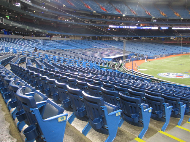 rogers centre seating tips 100 level