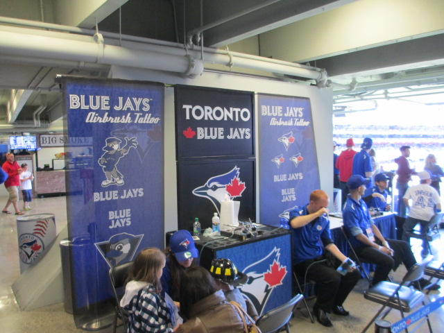 rogers centre with kids fan club