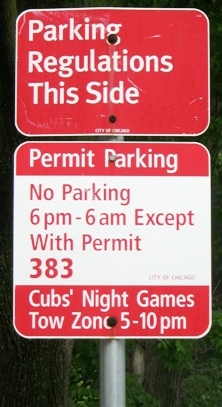 free street parking wrigley field
