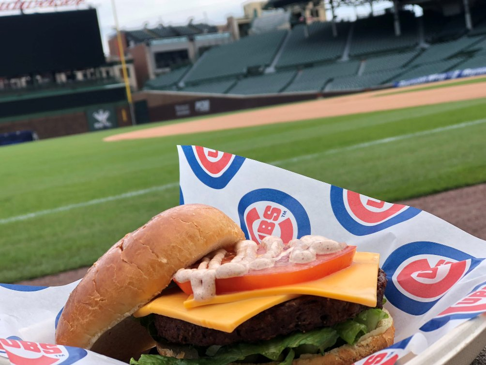 wrigley field vegetarian food
