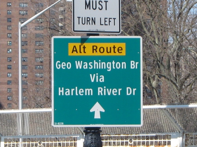 alternate route yankee stadium