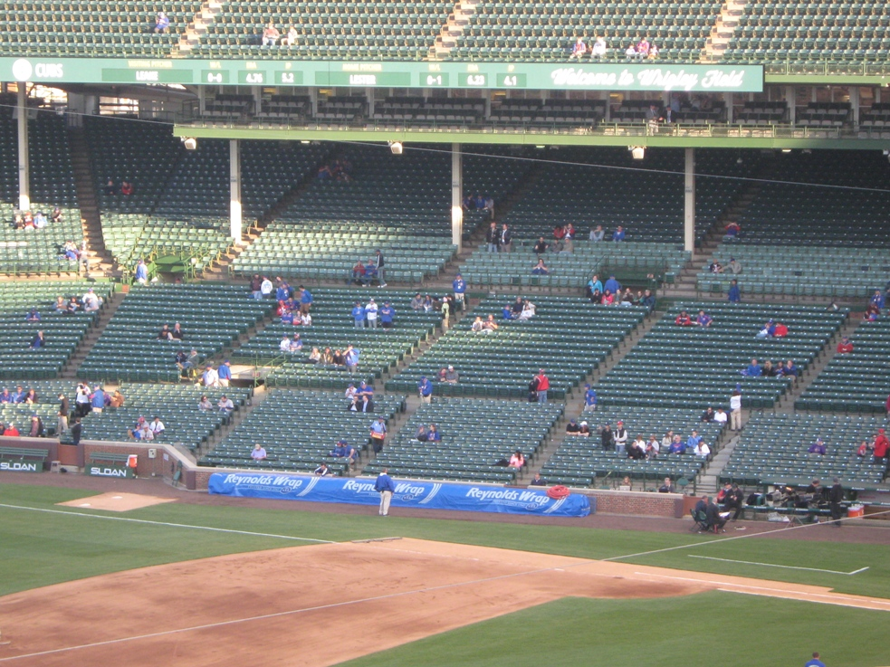 wrigley field shade