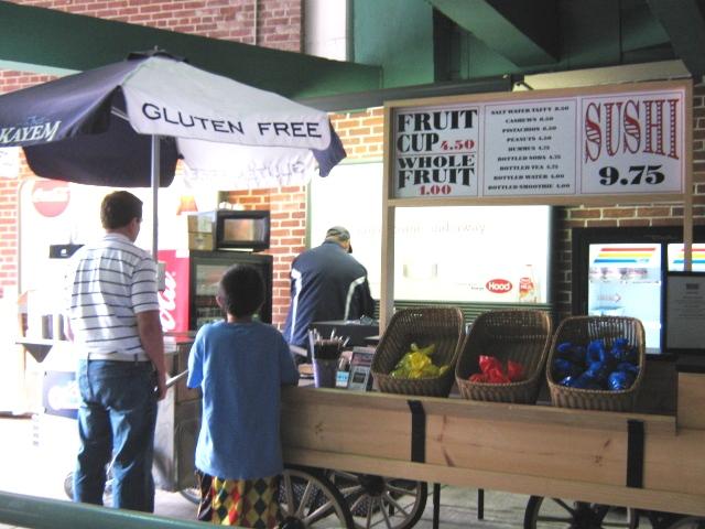 fenway park gluten free
