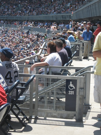 handicapped seating yankee stadium