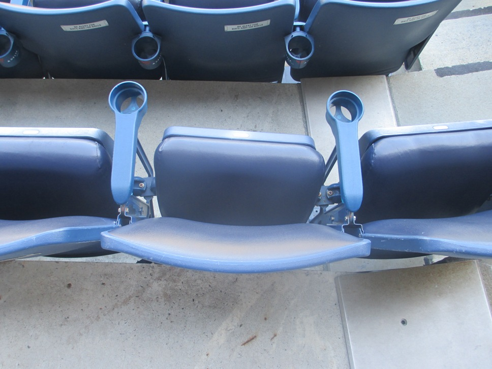 Yankee Stadium seating field level