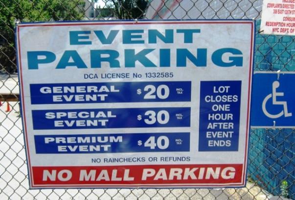 Yankees parking parkwhiz
