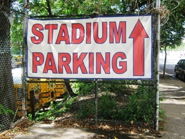 yankee stadium parking lots