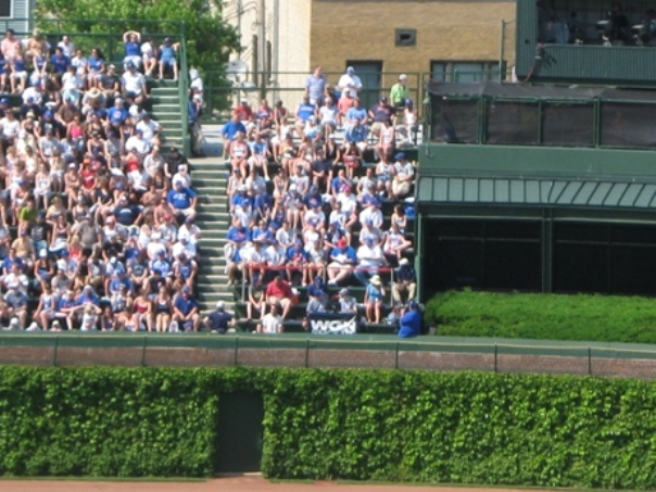 wrigley field bleachers seats