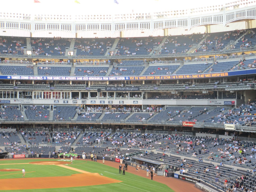 yankee stadium seating seats