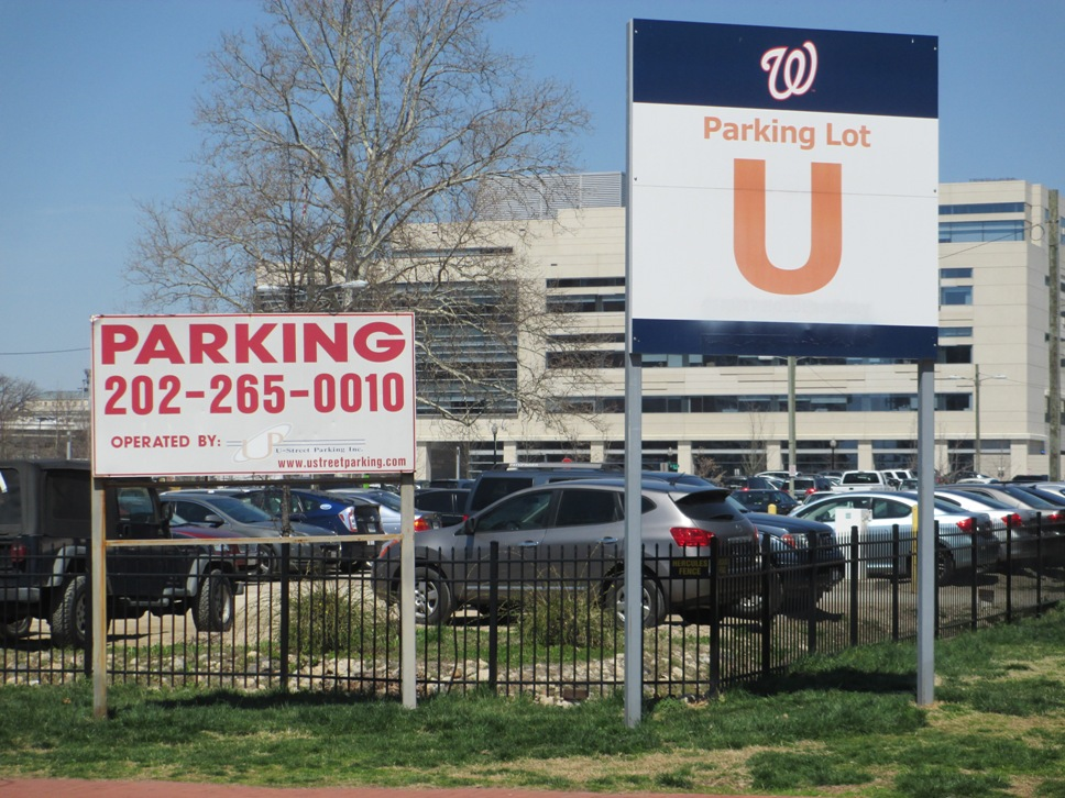 washington nationals parking